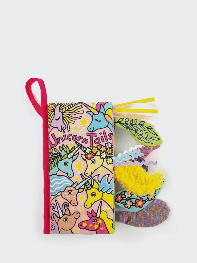 JELLYCAT Unicorn Tails 彩虹小馬尾巴書