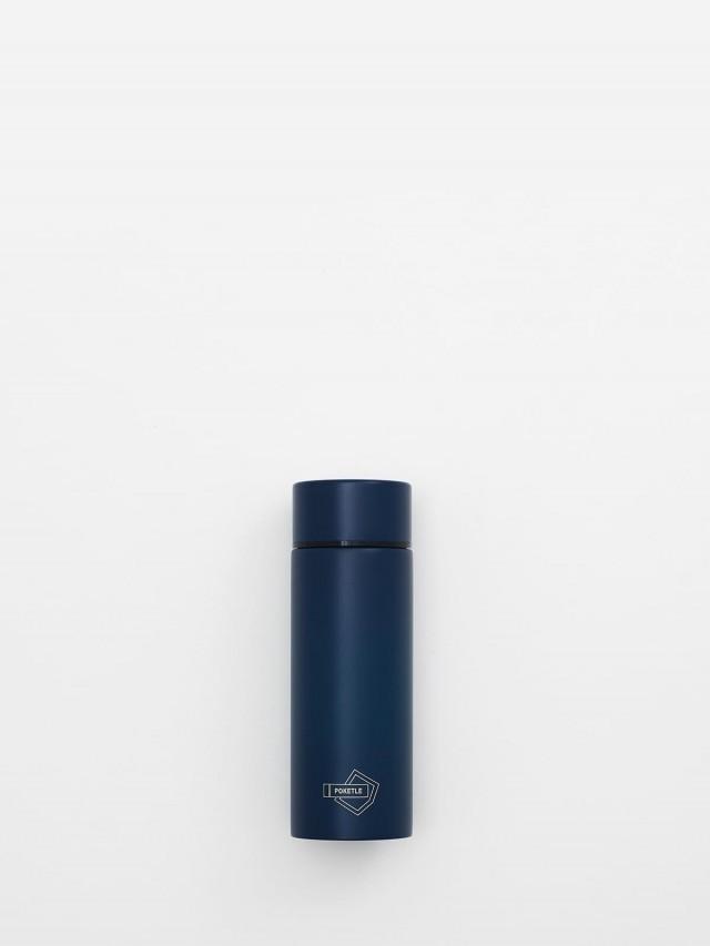 POKETLE 極致輕便保溫瓶 S ( 海軍藍 ) 120 ml