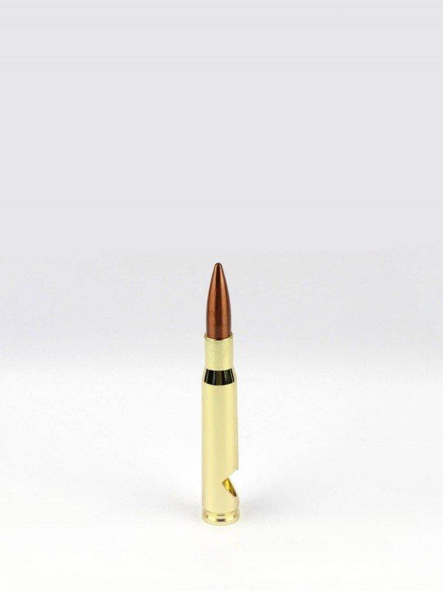 Lucky Shot 50 Cal BMG 子彈開瓶器 - 金色