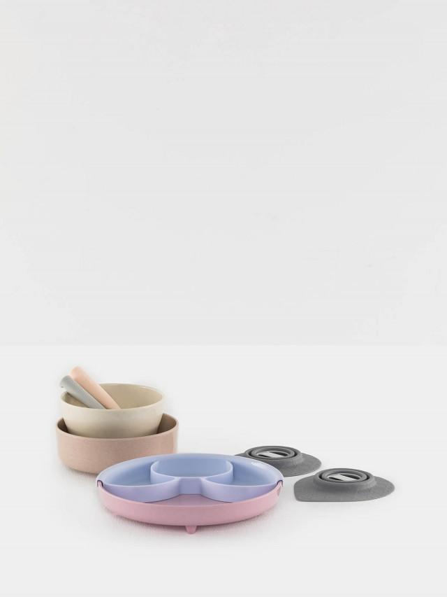 Miniware LUXJOY 限定 天然寶貝兒童學習餐具 巴黎小淑女 禮盒組