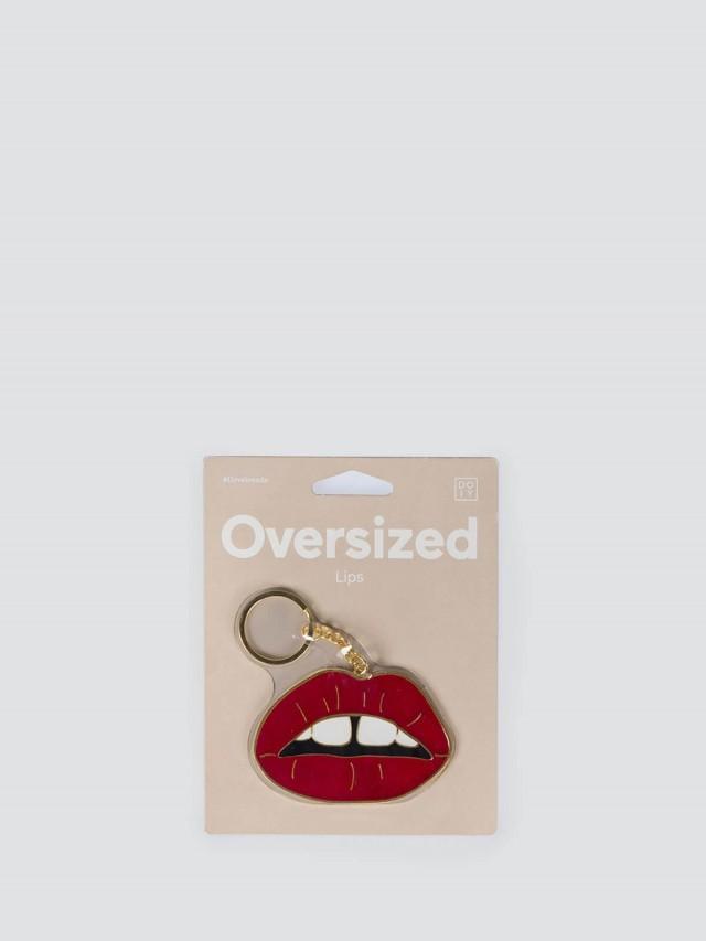 DOIY Oversized Lips 放大鑰匙圈 x 嘴唇