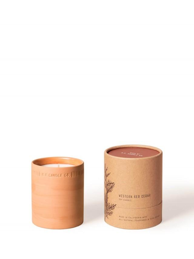 P.F. CANDLES CO. 植物陶罐系列 雪松太平洋 WESTERN RED CEDAR 手工香氛蠟燭 x 226g