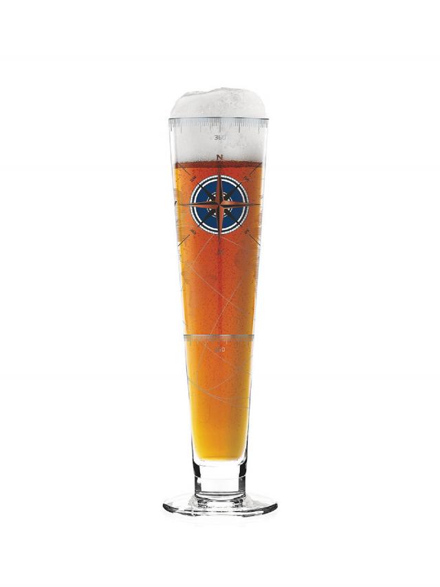 RITZENHOFF BLACK LABEL 黑標經典啤酒杯 / 航海地圖