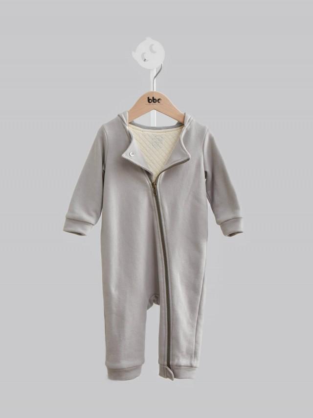 baby baby cool 小精靈系列之騎士風連身兔裝 - 灰色