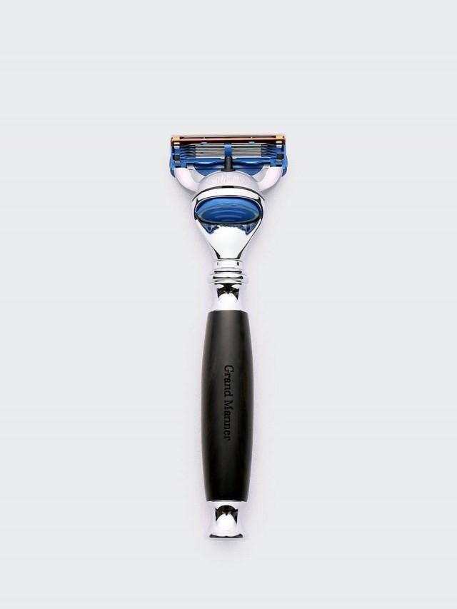 Grand Manner 尊爵系列手動刮鬍刀- 黑檀木 / 鋒隱 5 Fusion