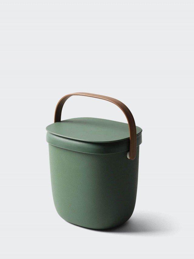 QUALY 食物回收桶 3.5L x 綠
