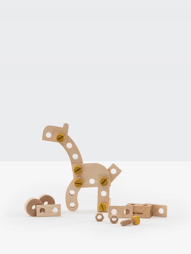 PlayMe 動物螺絲積木
