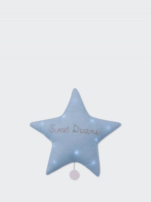 TOI-MEME 法式星星音樂夜燈 ( 甜蜜美夢 - 銀藍 ) 禮盒
