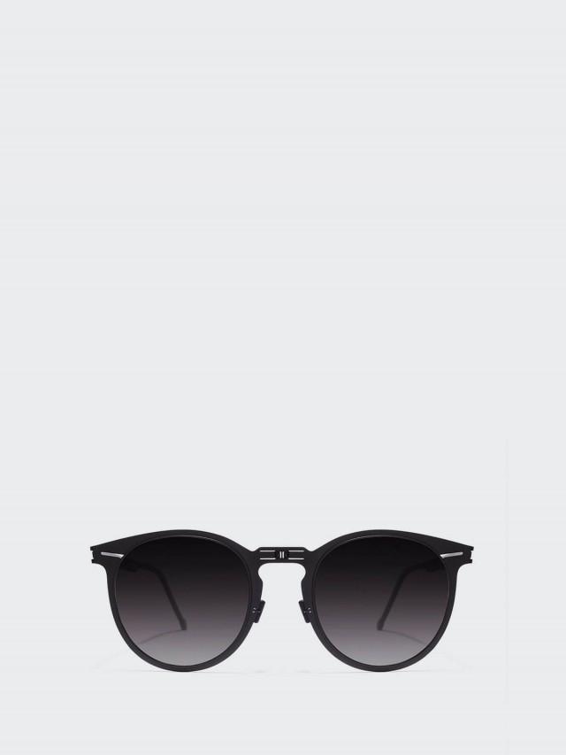 ROAV 薄鋼摺疊太陽眼鏡 -  Riviera 黑框 / 漸層黑鏡片
