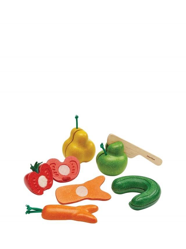 PLANTOYS 小主廚 - 醜蔬果切切樂