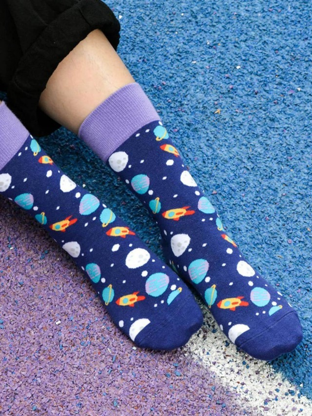sokker 太空星球 4 分之 3 襪