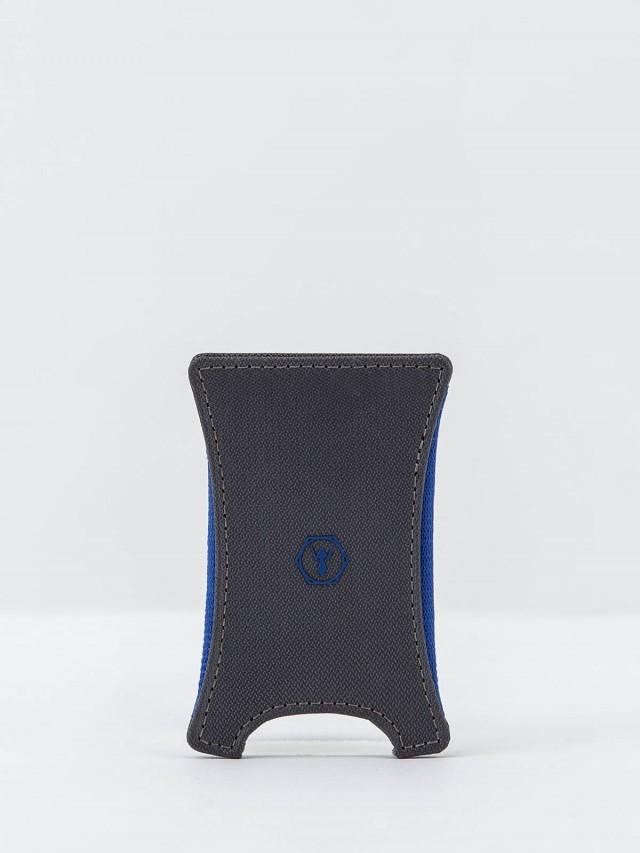 Würkin Stiffs RFID 防盜超緊實錢鈔票夾 - 編織 / 灰色