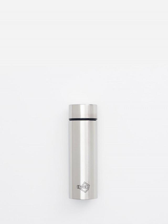 POKETLE 極致輕便保溫瓶 ( 銀 ) 120 ml