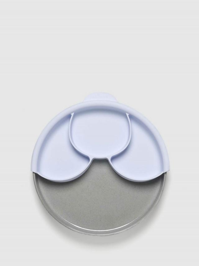 Miniware 天然寶貝碗 兒童分隔餐盤組 - 芝麻麵包盤 / 淺薰衣草分隔盤