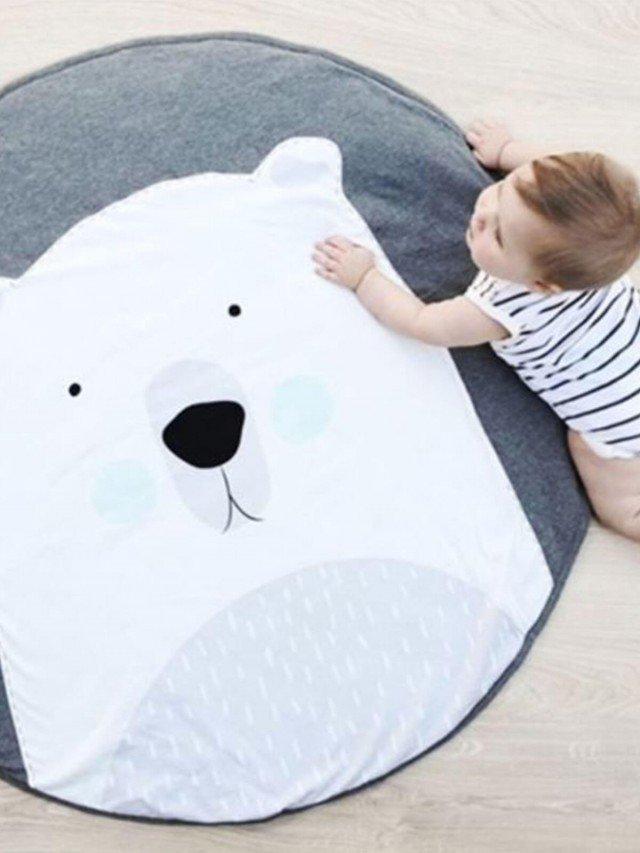 Mister Fly 動物造型遊戲墊 - 北極熊