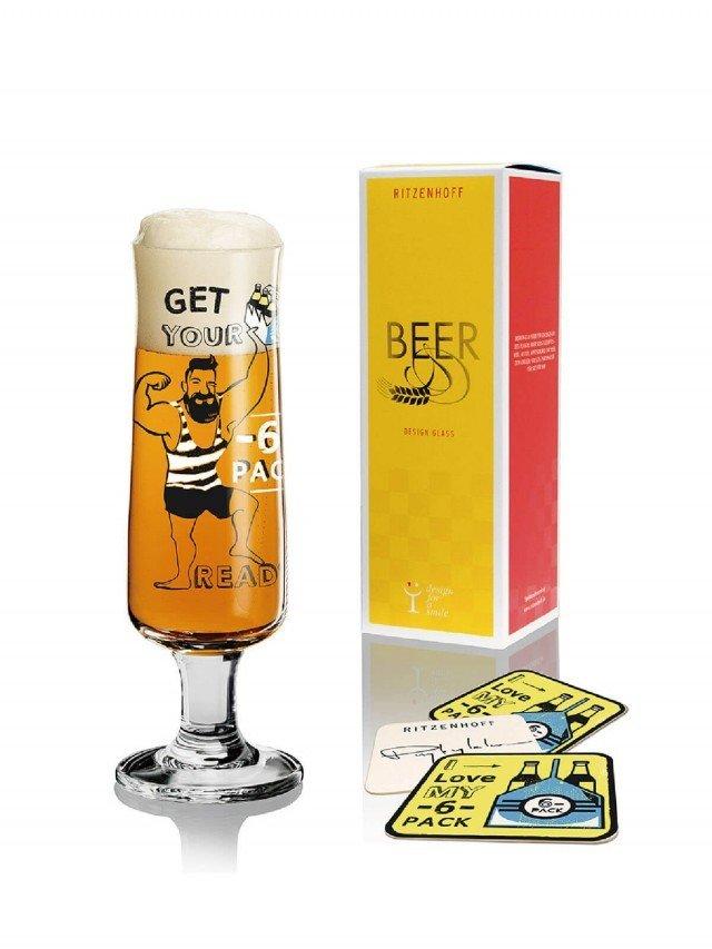 RITZENHOFF BEER 新式啤酒杯 / 肌肉型男