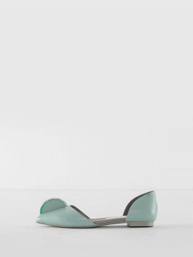 abcense Tera 平底鞋 x 淡綠色
