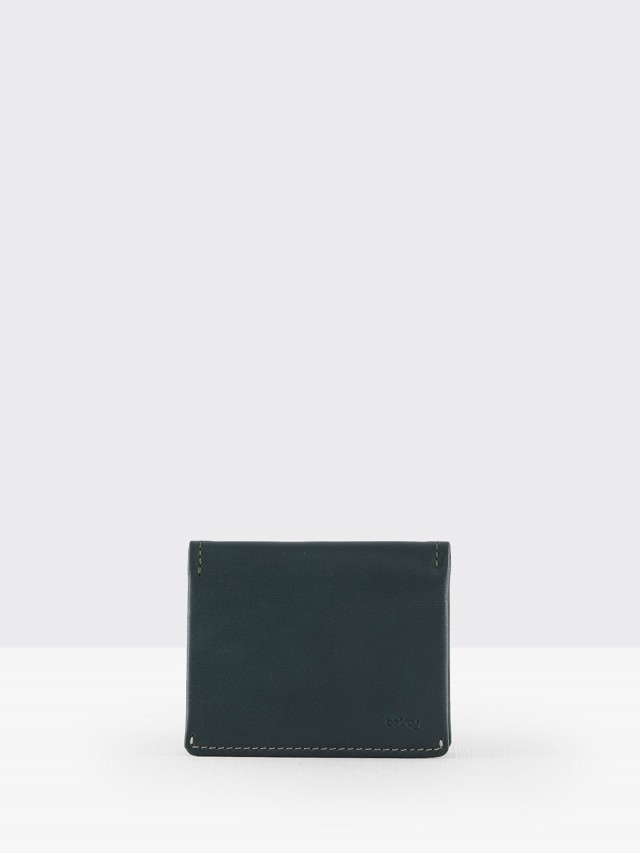 bellroy Slim Sleeve 薄型皮夾 - 綠松