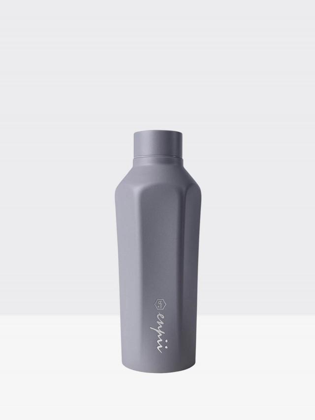 BOII 本因保溫瓶 450ml - 水泥灰