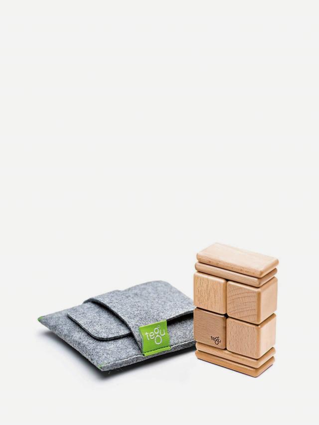 tegu 經典淺木色磁性積木