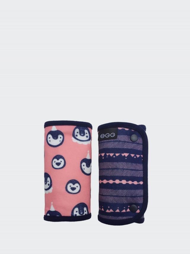 OGG 喔咯 揹巾口水巾 - 甜甜馬戲團 / 企鵝可莉 / 粉紅