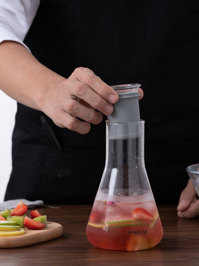Simple Lab MIXO 燒杯泡茶壺