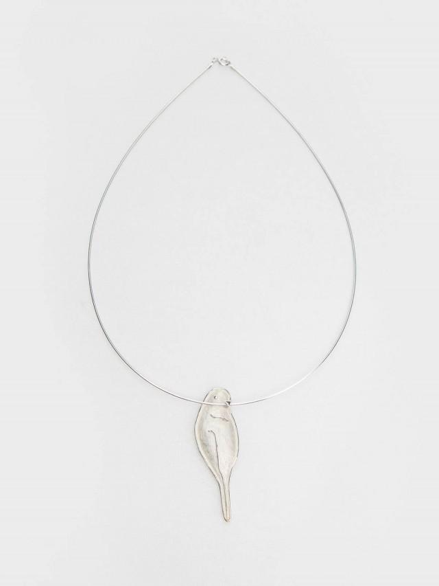 INTZUITION Bird 鳥 手工純銀墜飾項圈 pendant / necklace