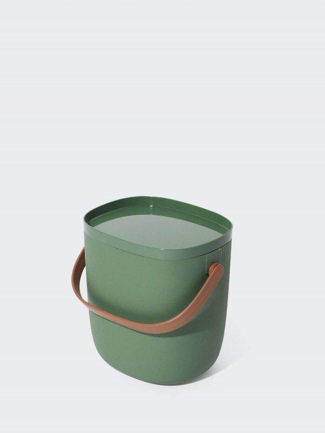 QUALY 手提式置物箱 3.5L x 綠