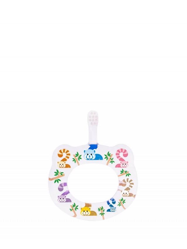 HAMICO 寶寶顧齒牙刷 - 月份 2 小熊貓