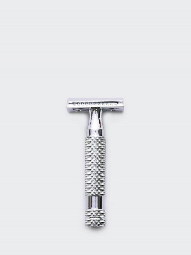 Grand Manner 特務系列 / 復古雙刃安全手動刮鬍刀- 銀