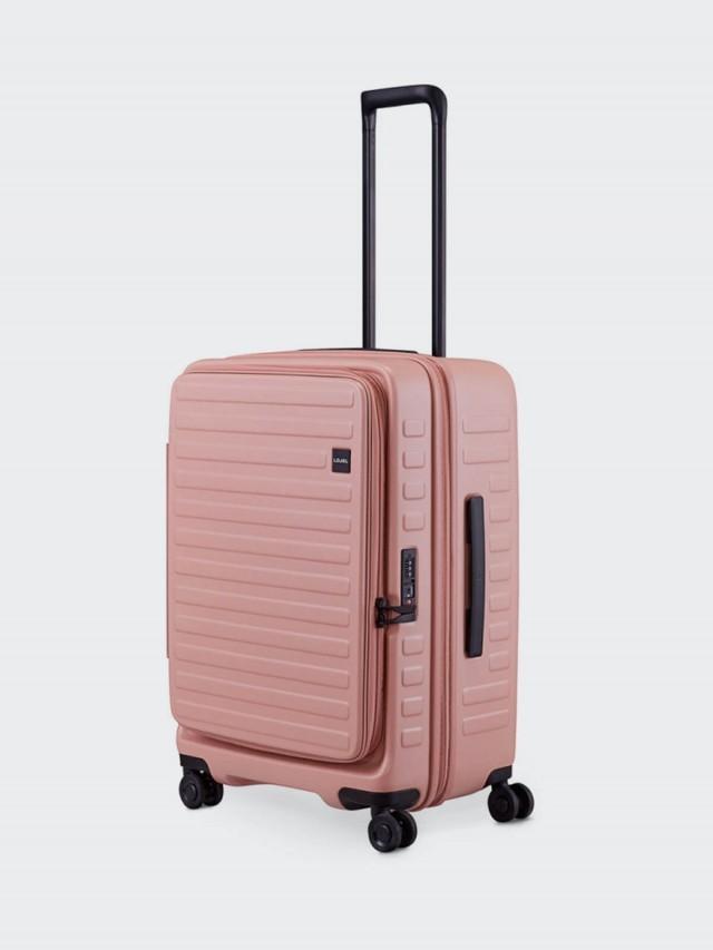 LOJEL CUBO 前開擴充箱 限定色款 - 粉紅 / 26 吋