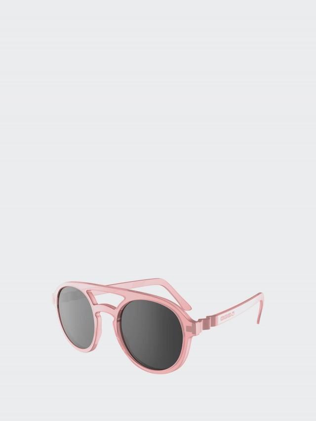 Ki ET LA Pizz 飛行員幼童太陽眼鏡 - 粉紅