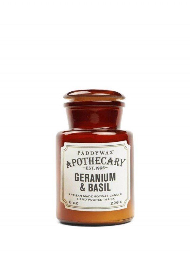 PADDYWAX Apothecary 藥劑師系列 香氛蠟燭 Geranium & Basil 羅勒天竺葵 226g