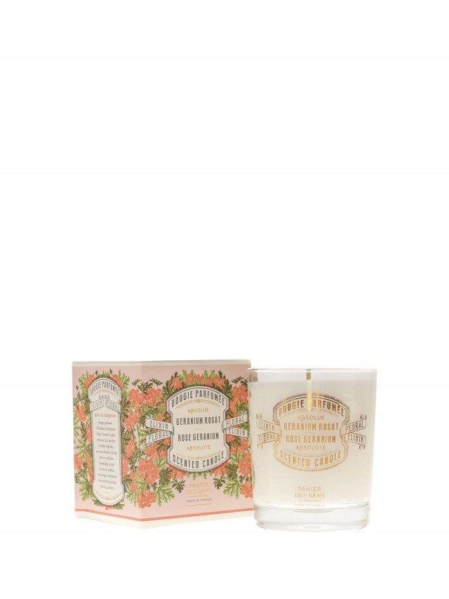 PANIER DES SENS 香氛蠟燭 180g - 玫瑰天竺葵 Rose Géranium