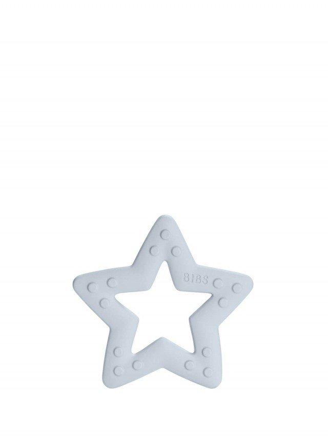 BIBS Bitie 固齒器 - 星星嬰兒藍