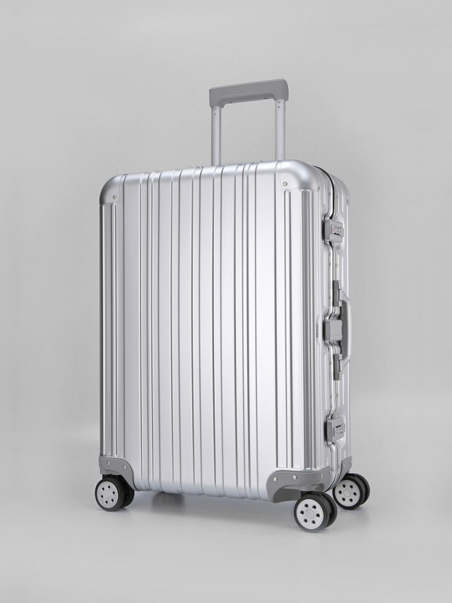 Swiss Style 極緻奢華鋁鎂合金行李箱 - 26 吋 / 時尚銀