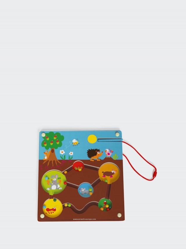 Scratch EUROPE 磁性花園迷宮