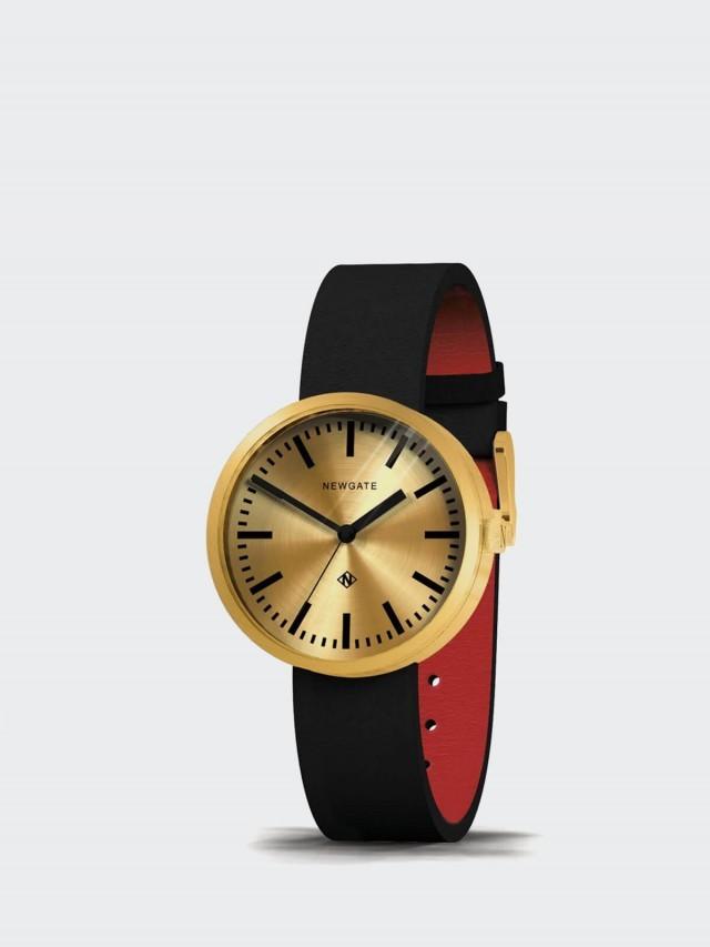NEWGATE 對錶組 DRUMMER - 義大利皮革錶帶 - 典雅金 / 40mm + 50mm