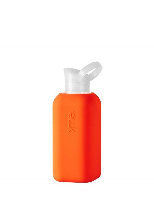 SQUIREME. 玻璃水瓶 - 珊瑚橘