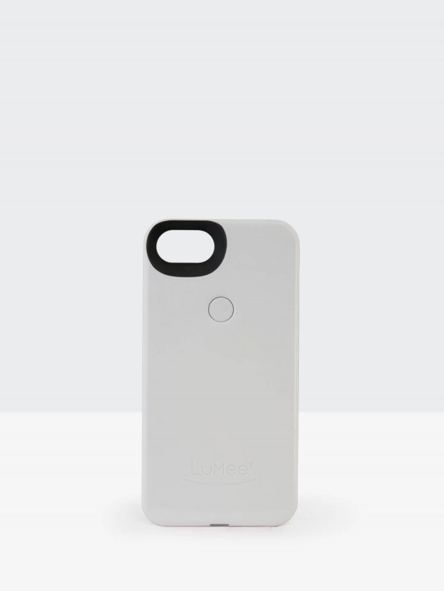 LuMee Two 第二代 LED 補光手機殼 - 白色