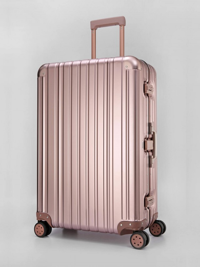 Swiss Style 極緻奢華鋁鎂合金行李箱 - 29 吋 / 玫瑰金