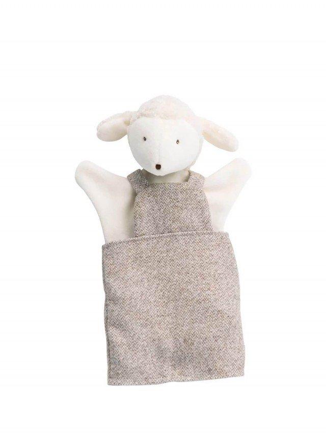 Moulin Roty 歡樂家庭手偶 Albert 綿羊 25 cm