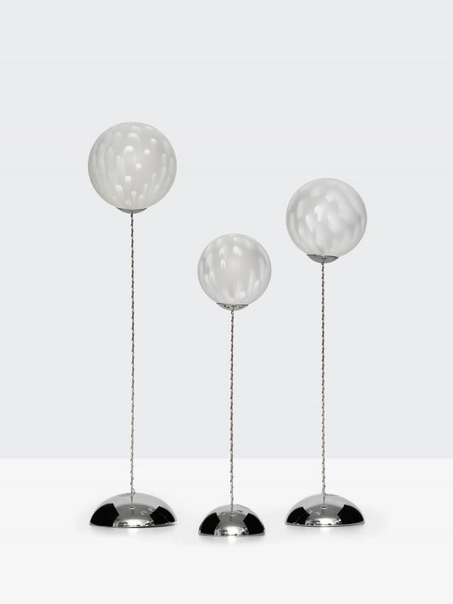 SIRIUS 雲紋球燈三件組 ( 非遙控,附敲擊棒 )