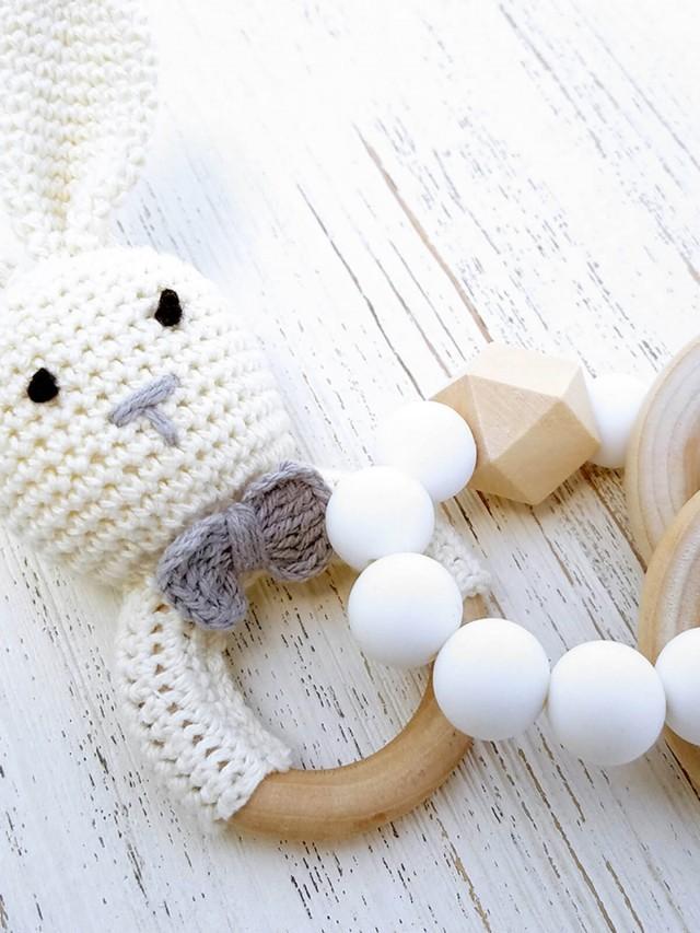 Mali Wear 嬰幼兒原木固齒矽膠手環