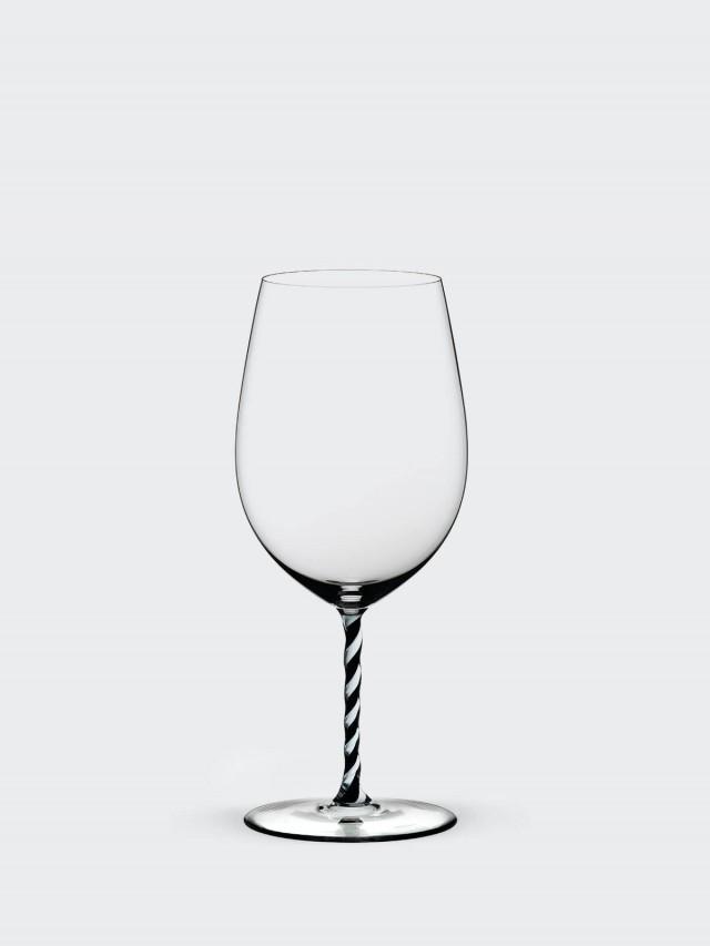 RIEDEL FATTO A MANO - Bordeaux 波爾多黑白旋彩手工紅酒杯