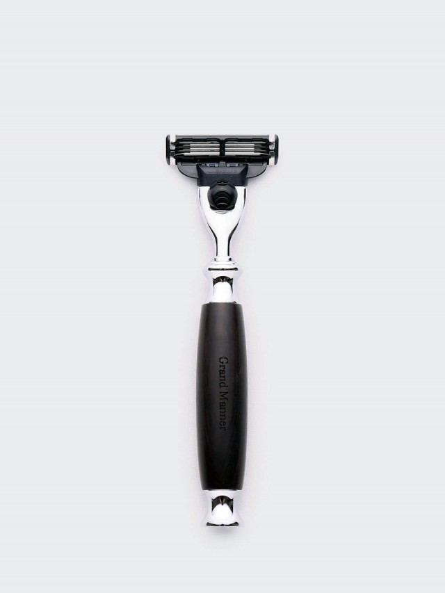 Grand Manner 尊爵系列手動刮鬍刀- 黑檀木 / 鋒速 3 Mach 3