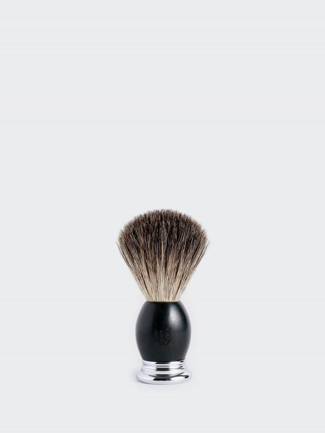 Grand Manner 純獾毛刮鬍泡刷 - 黑檀木