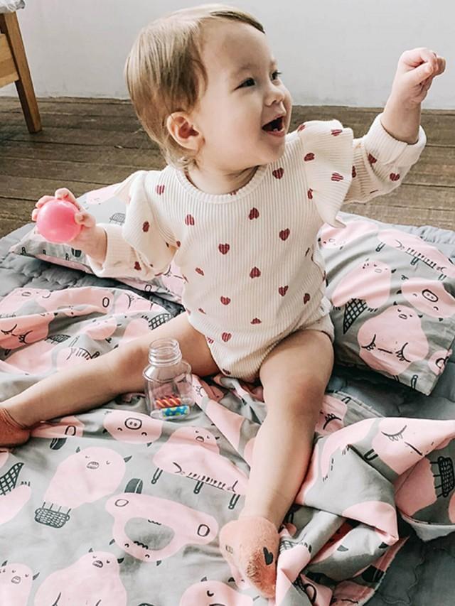 DABY 點點舒眠毯 - 豬豬小怪獸