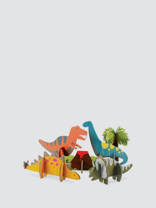 petit collage 立體組裝拼圖 - 恐龍世界