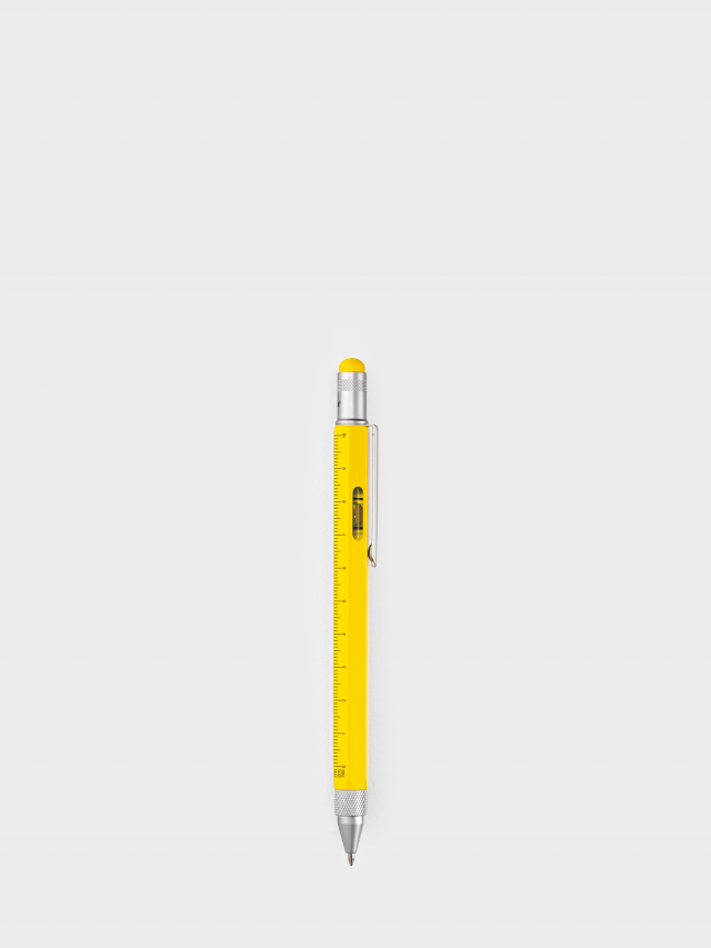 TROIKA 多功能工具筆 - 黃色